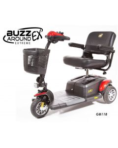 Golden Buzzaround Extreme 3 Wheel Mobility Scooter