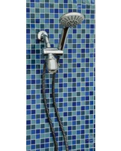 Deluxe Hand Held Shower Head - Chrome Finish