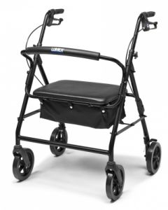 Four-Wheel  Rollator w/Contoured Backbar, 450 Weight Capacity