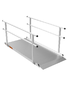 Gateway Aluminum Wheelchair Access Ramp with Handrails