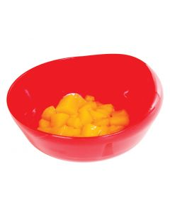Power of Red™ Large Scoop Bowl with Suction Bottom