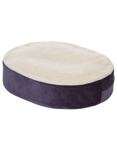 """Donut Cushion with Gel Insert  and Fleece Cover - 18"""" x"""" 16"""" x 4"""""""