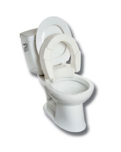 "4"" Hinged Raised Toilet Seat"