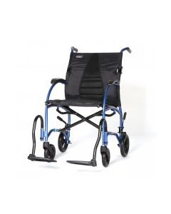 "Strongback Excursion 8"" Wheels Transport Chair"
