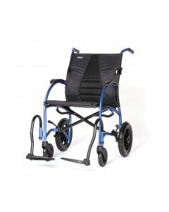 "Strongback Excursion 12"" Wheel Transport Chair"