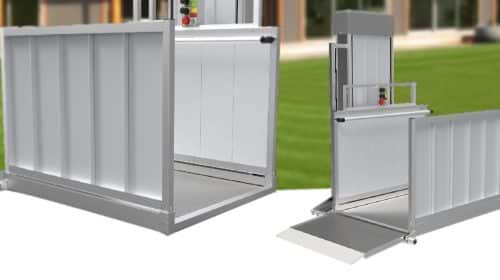 Installing Passport Vertical Lifts Make Disabled-Access Easy