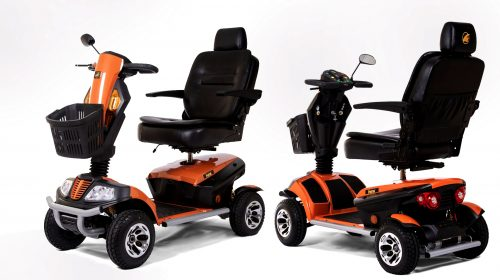 Open the Door to Accessibility with Golden Patriot 4 Wheel Scooter