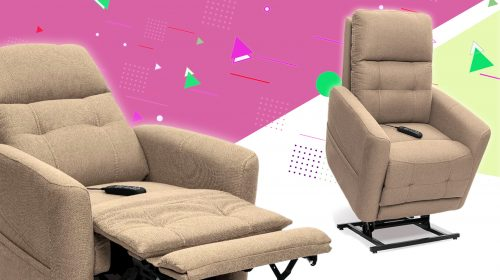 Power Recliner to Take Stress off the Back and Relieve Pain