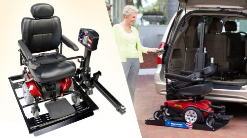 Vehicle Lifts for Easy Boarding in Vehicles