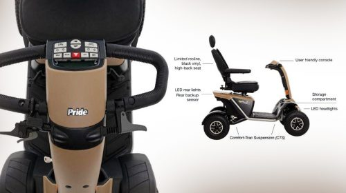 Pride Wrangler- An Outdoor Scooter with Powerful Features