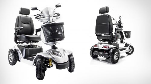 Merits S941A 4- Wheel Full Suspension Mobility Scooter