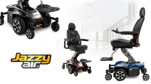 Pride's Mid-Wheel Jazzy Air 2 – Fly with Eagles
